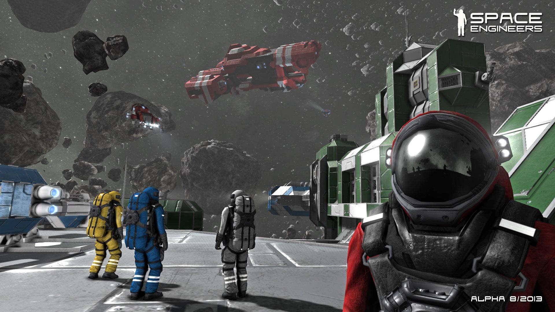 Photo of Space Engineers alebo čo sa stane, keď sa Minecraft dostane do vesmíru