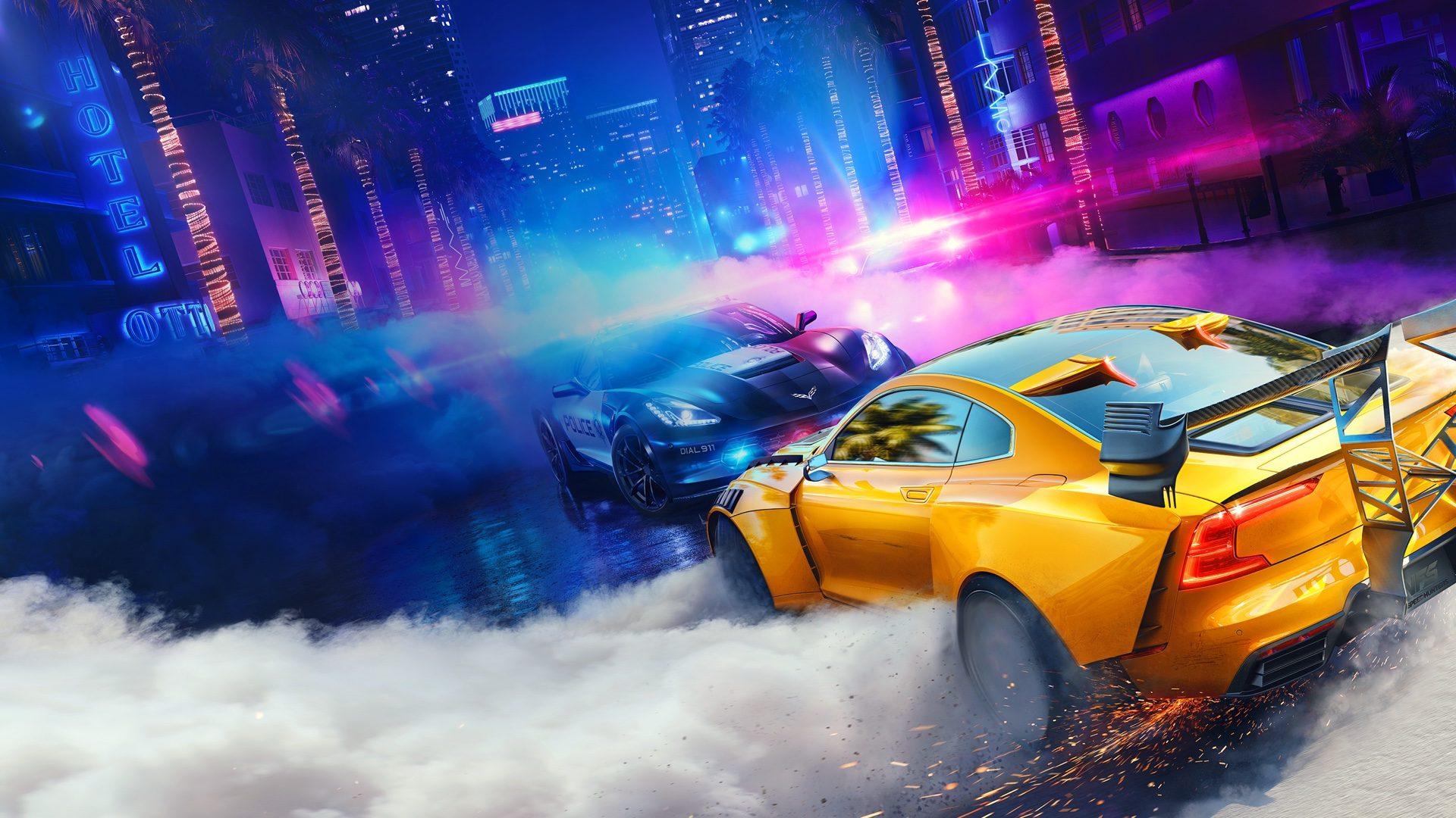 Photo of Need for Speed Heat ve světle neonů