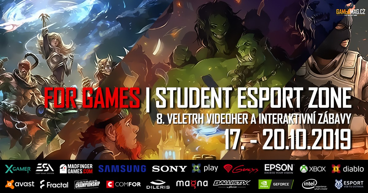 Photo of FOR GAMES | Student esport zone je tady!