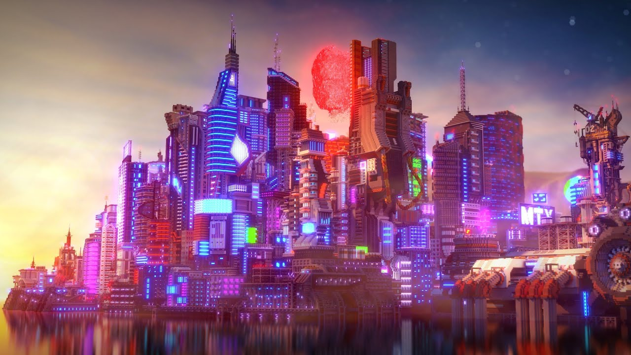 Photo of Cyberpunk 2077 v Minecraftu?!