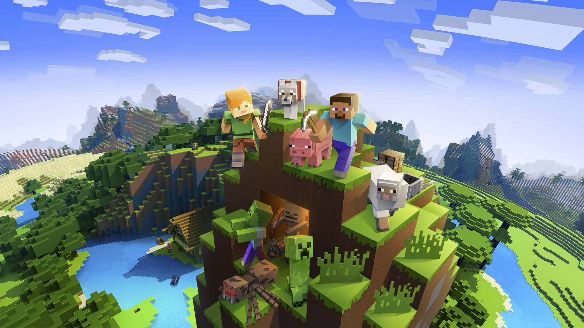 Photo of Minecraft Bedrock Edice nově na PS4!