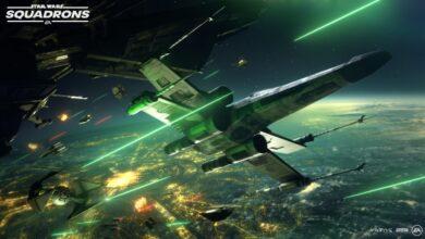 Photo of Záběry z hraní nové Star Wars hry s podtitulem Squadrons