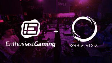 Photo of Enthusiast Gaming kupuje Omnia Media za 11.2 milionu dolarů