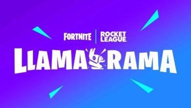 Photo of Rocket League a Fortnite vytvořili event Llama-Rama