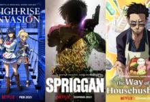 Photo of Netflix zveřejnil 5 anime novinek pro rok 2O21!